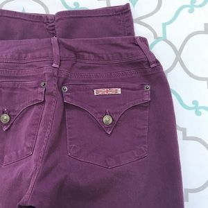 """💜👖ALTERED 4 BOOTY! HUDSON STRAIGHT👖💜26 1/2 31"""""""